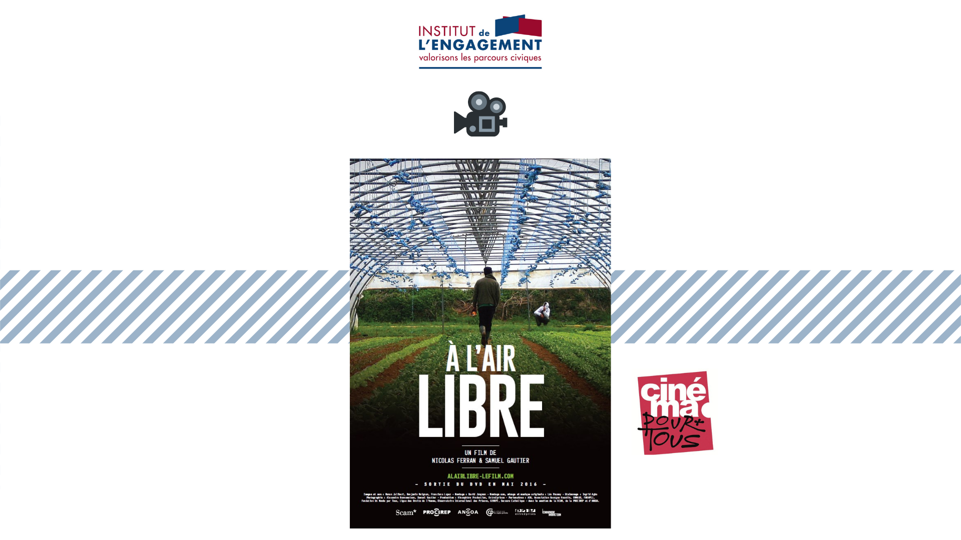 E-PROJECTION / DÉBAT – « A l'air libre »